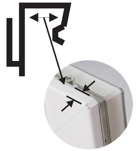 fix klick gardinenstange boston klemmstange zur aufh ngung von. Black Bedroom Furniture Sets. Home Design Ideas