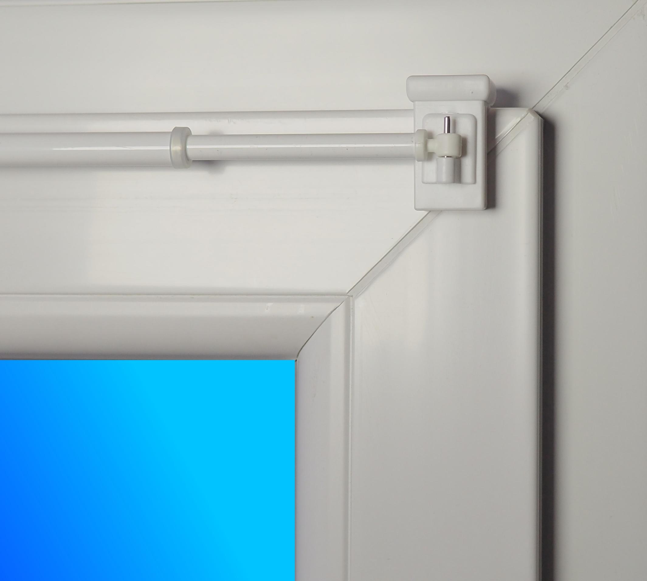 gardinen befestigen ohne schrauben und bohren. Black Bedroom Furniture Sets. Home Design Ideas